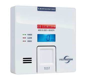 Protector Kohlenmonoxidmelder, CO-Gasmelder CO-300 85dB Bild 1