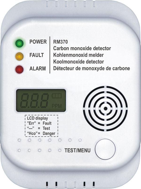 Smartwares Kohlenmonoxidmelder, CO-Gasmelder RM370 Bild 2