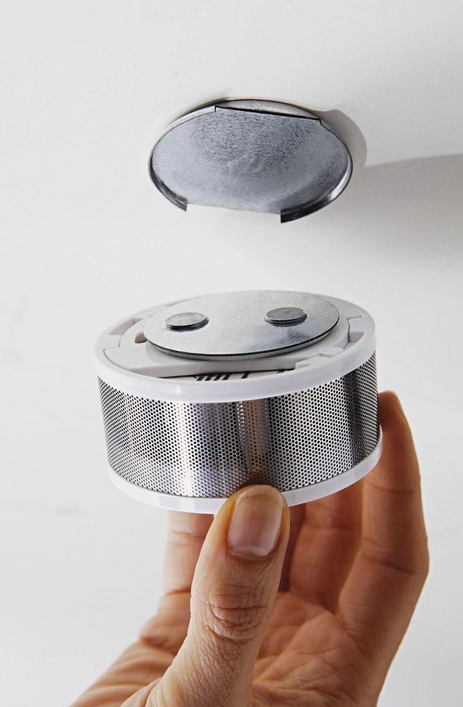 ABUS Magnetbefestigung HSZU10100 für Rauchwarnmelder GRWM30600 Bild 2