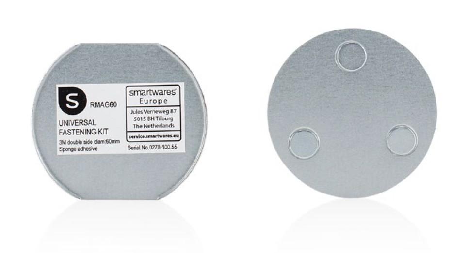 Smartwares Magnet-Befestigungsset für Mini Rauchmelder RMAG60 Bild 1