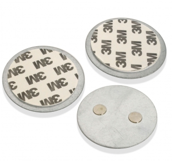 X4-LIFE Security Magnetplatte für Rauchmelder 3er Set Bild 1