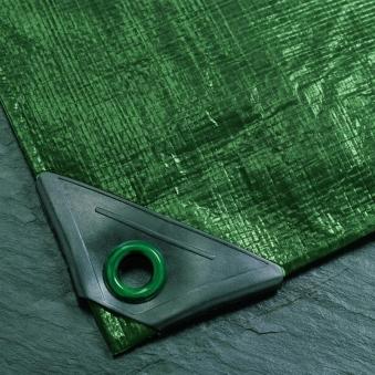 Abdeckplane / Gewebeplane Noor super 12x15m 200g/m² grün Bild 1
