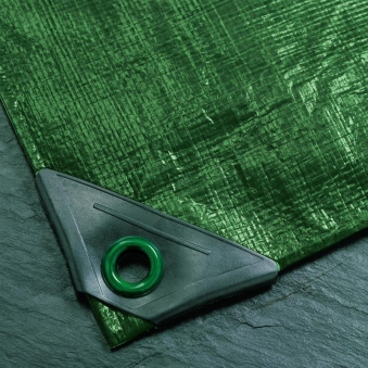 Abdeckplane / Gewebeplane Noor super 3x3m 200g/m² grün Bild 1
