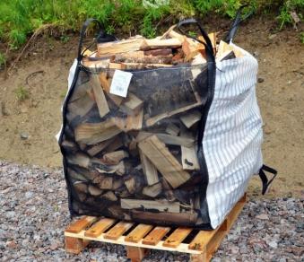 Big Bag für Brennholz 80x95x100cm Bild 1