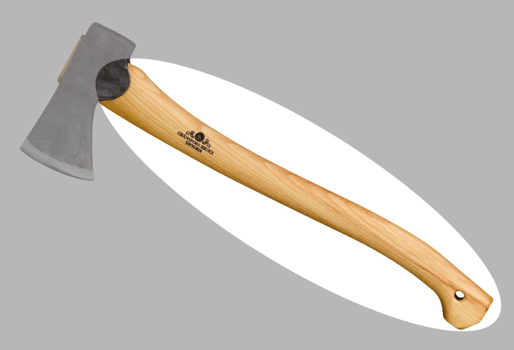 Ersatzstiel für Gränsfors Forstbeil / kleine Forstaxt 20-305 50cm Bild 1