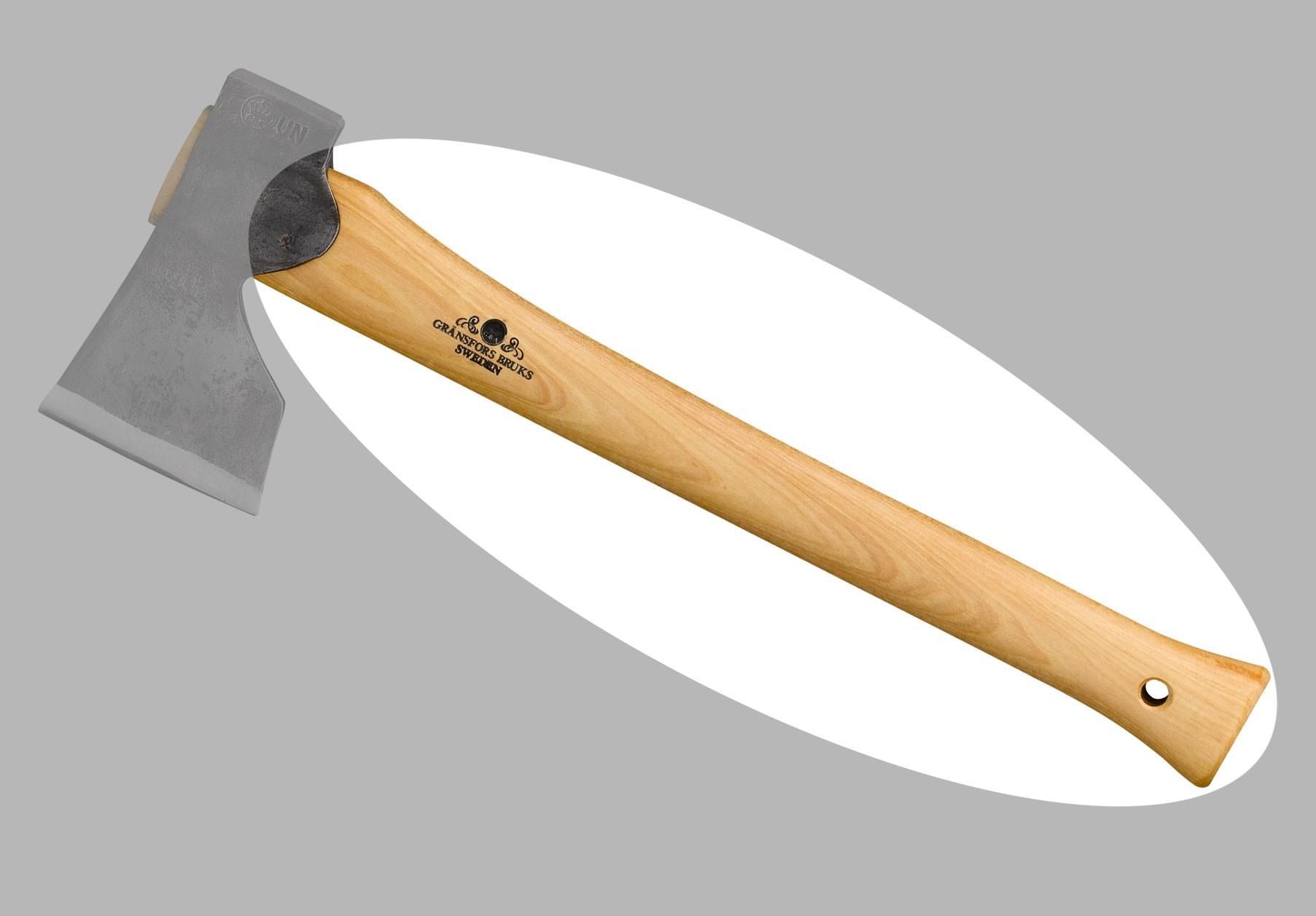 Ersatzstiel für Gränsfors Tischlerbeil 45cm 20-307 Bild 1