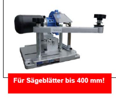 Sägeblatt Schärfgerät GSS 400 Güde 230 Volt Bild 2
