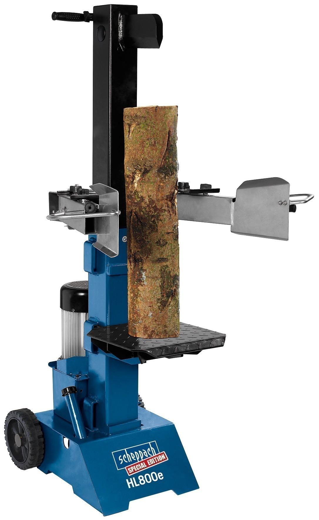 holzspalter hydraulikspalter scheppach hl800e 8t 3,3kw - bei