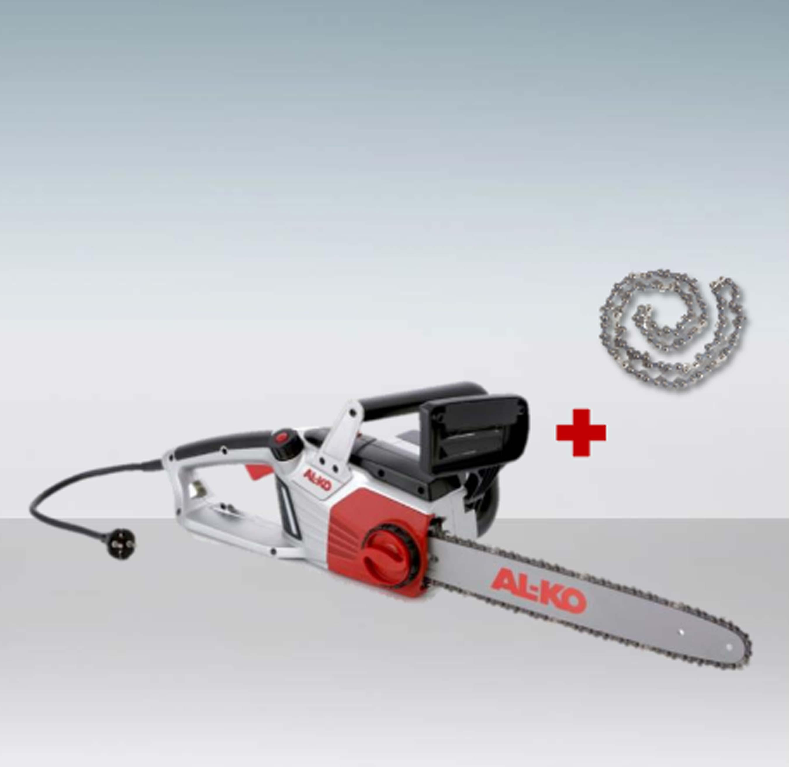 AL-KO Elektro Kettensäge EKS 2400 + Ersatzkette Schwertlänge 40cm Bild 1