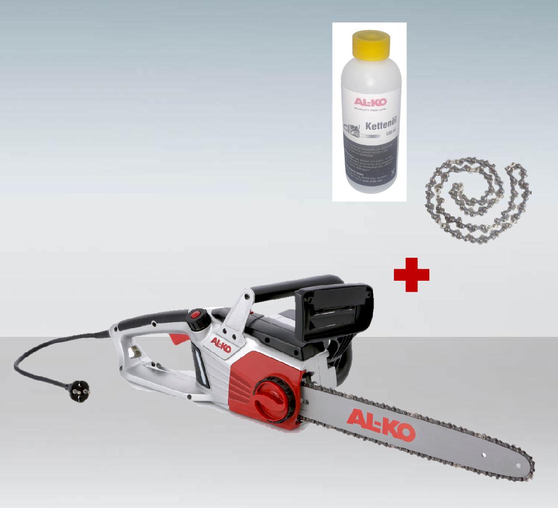 AL-KO Elektro Kettensäge / Motorsäge EKS 2400/40 S 40cm + Öl und Kette Bild 1