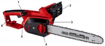 Einhell Elektro-Kettensäge GH-EC 2040 Watt 2000 Schnittlänge 37,5cm Bild 1