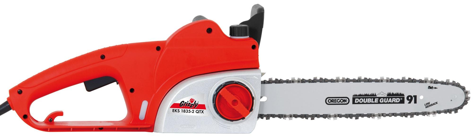 Elektro Kettensäge Grizzly EKS 1835-2 QTX 1800 Watt Bild 1
