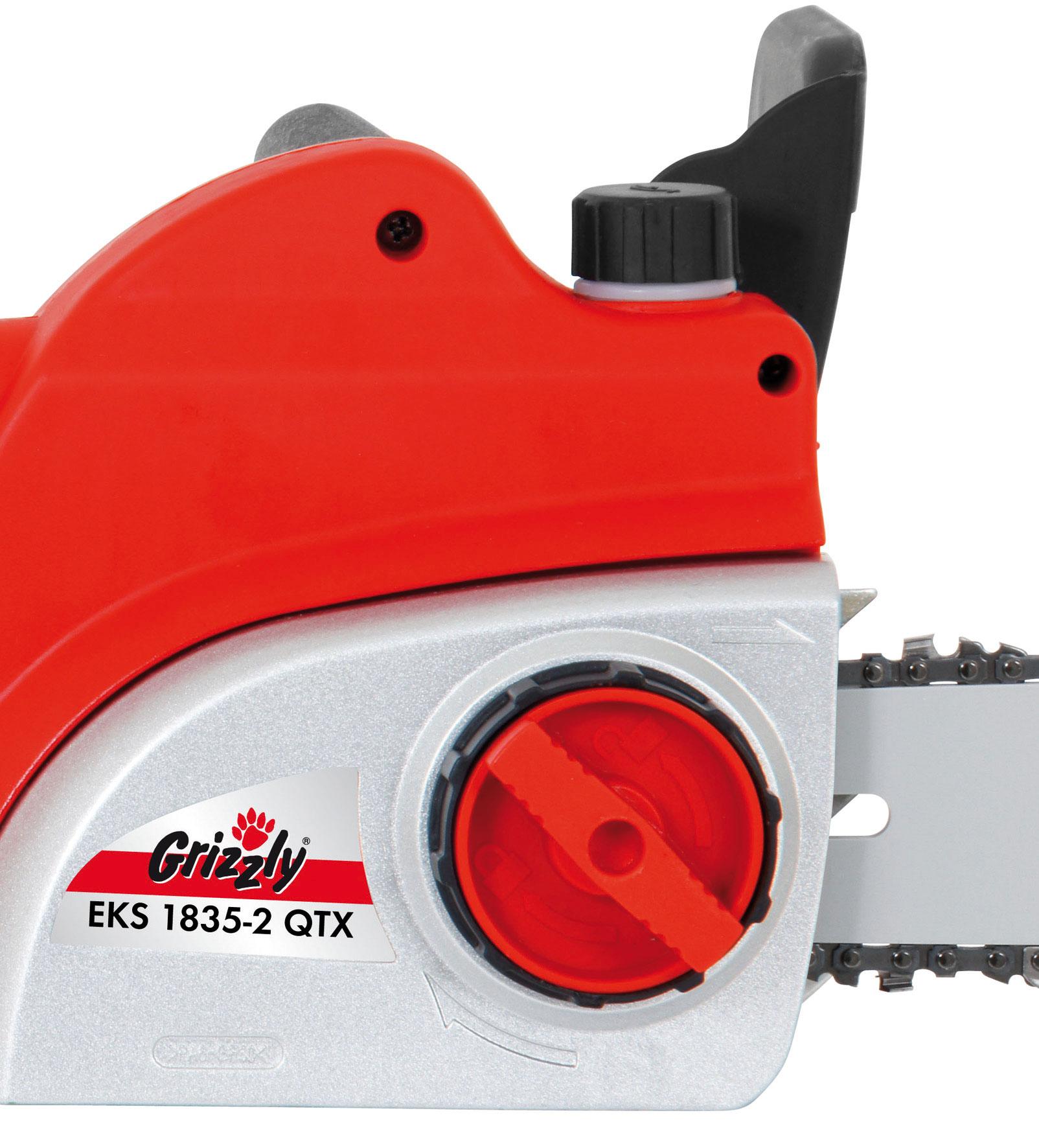 Elektro Kettensäge Grizzly EKS 1835-2 QTX 1800 Watt Bild 2