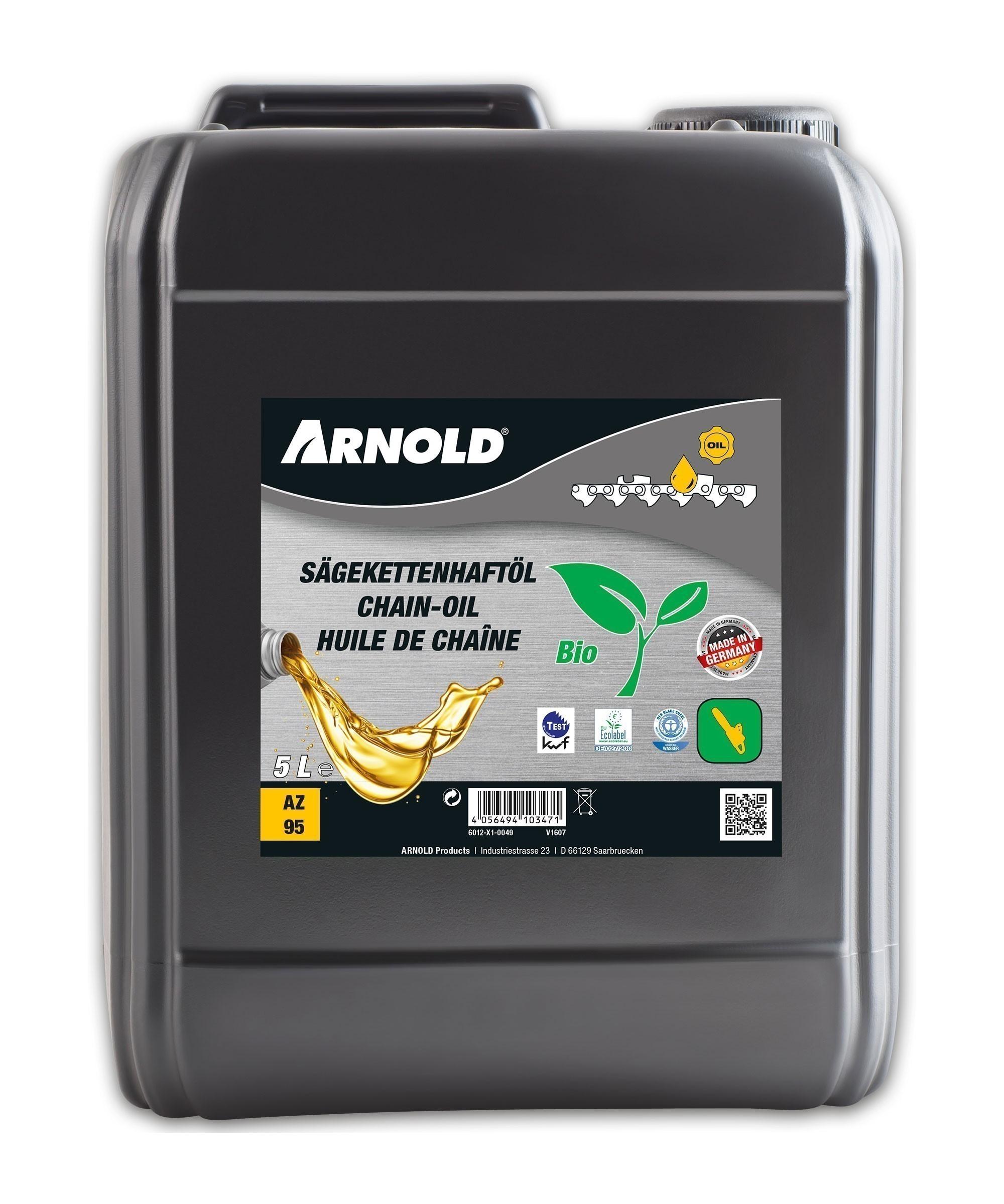 Arnold Bio-Sägekettenhaftöl Typ R-5 Inhalt 5 Liter Bild 1