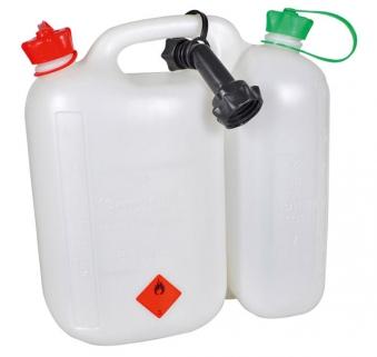 Dolmar Kombikanister Kraftstoffkanister 5+3L transparent Bild 1