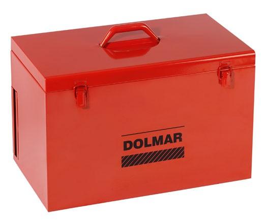 Dolmar Metallkoffer 470x275x300mm rot Bild 1