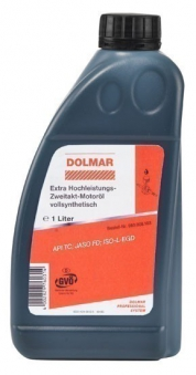 Dolmar Motoröl 2-Takt-Öl / Extra-Hochleistungs-Zweitakt-Motoröl 5 L Bild 1