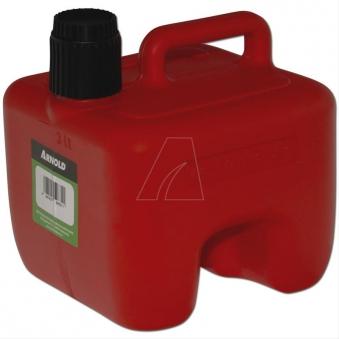 Kraftstoffkanister / Benzinkanister 3 Liter rot stapelbar Bild 1