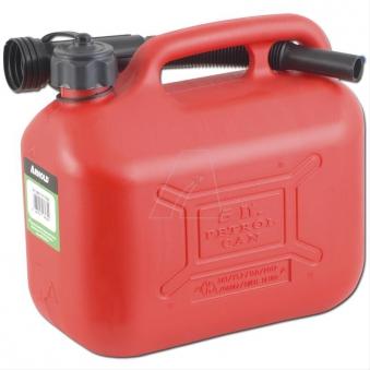 Kraftstoffkanister / Benzinkanister 5 Liter rot Bild 1