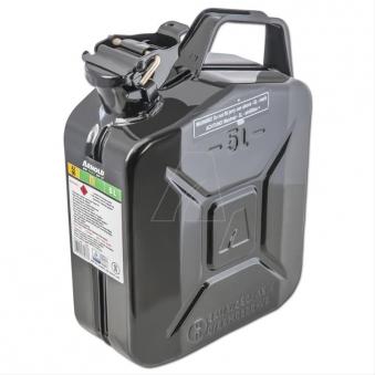 Metallkanister / Kraftstoffkanister 5 Liter schwarz Bild 1