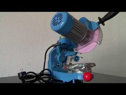 Sägekettenschärfgerät / Kettensäge Schärfgerät Güde P 2300 A Video Screenshot 21