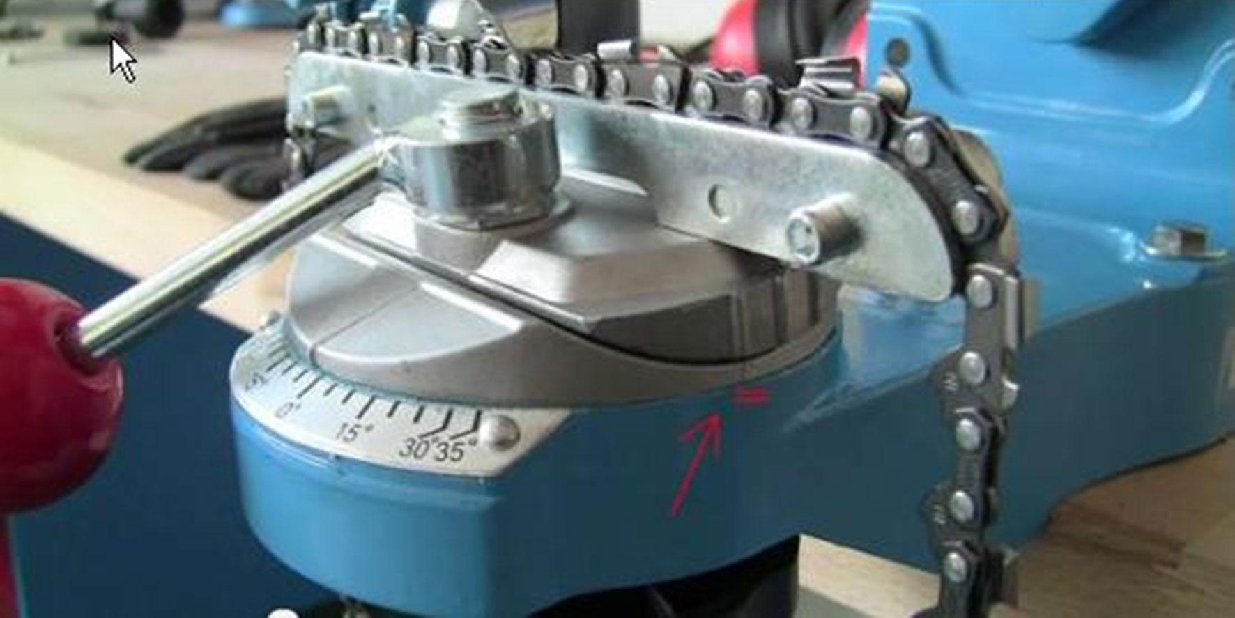 sägekettenschärfgerät / kettensäge schärfgerät güde p 2501 s - bei