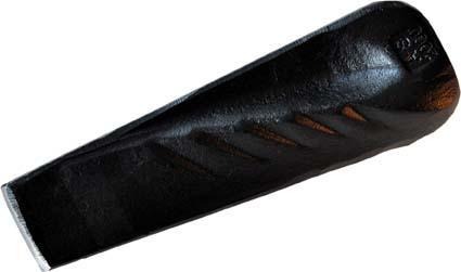 Spaltkeil gedreht schwarz2000g ADLER Bild 1