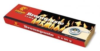 Brennpaste / Sicherheitsbrennpaste Flash 3 x 80 g Bild 1