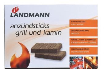 Landmann Grillanzünder / Anzündsticks Grill + Kamin 32 Stück Bild 1