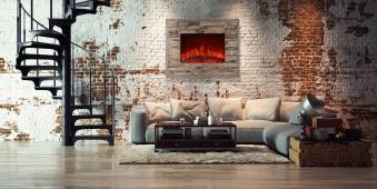 B-Ware El Fuego LED Elektrokamin / Dekokamin Florenz 1500W Bild 7
