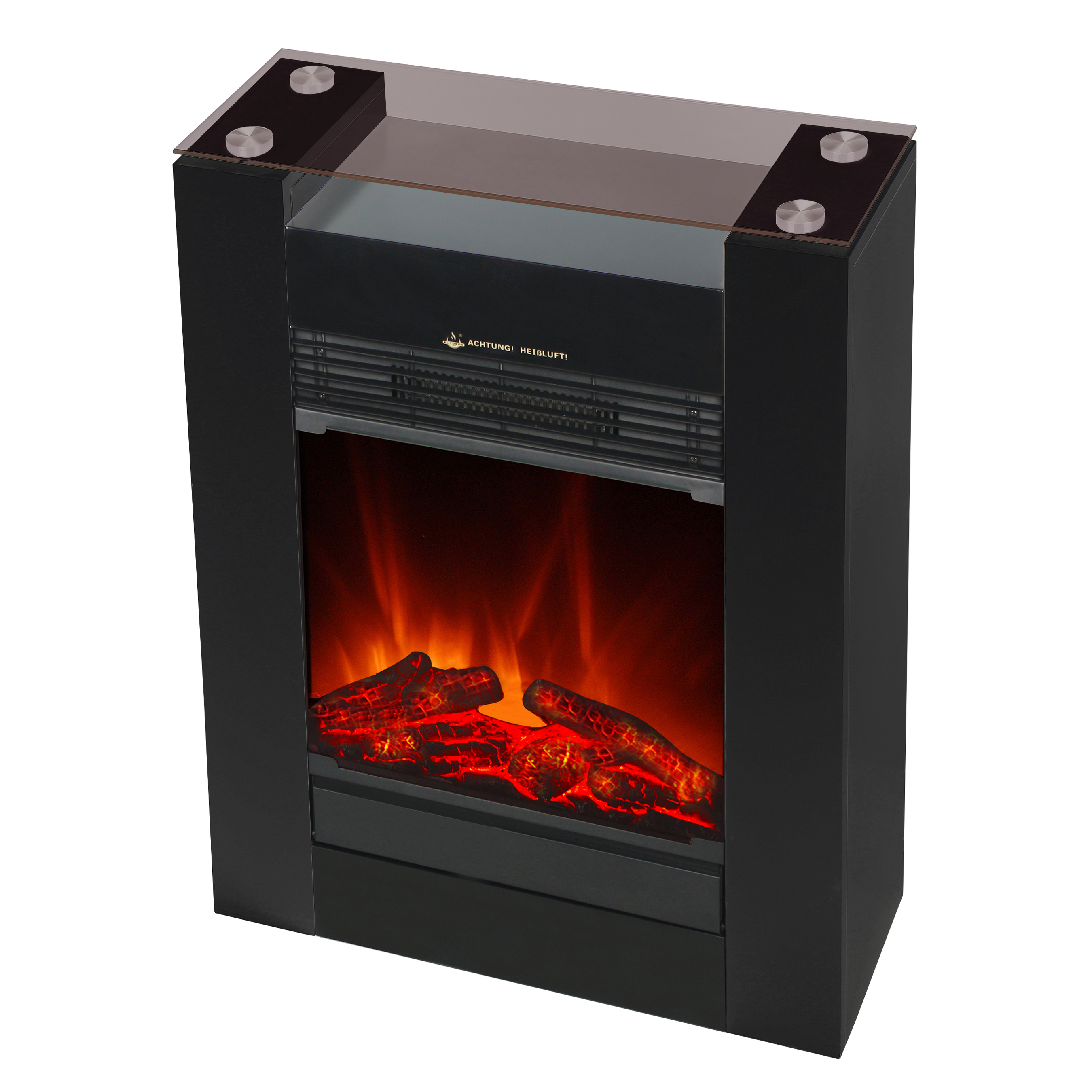 El Fuego Elektrokamin / Dekokamin Tessin 1800W schwarz Bild 3
