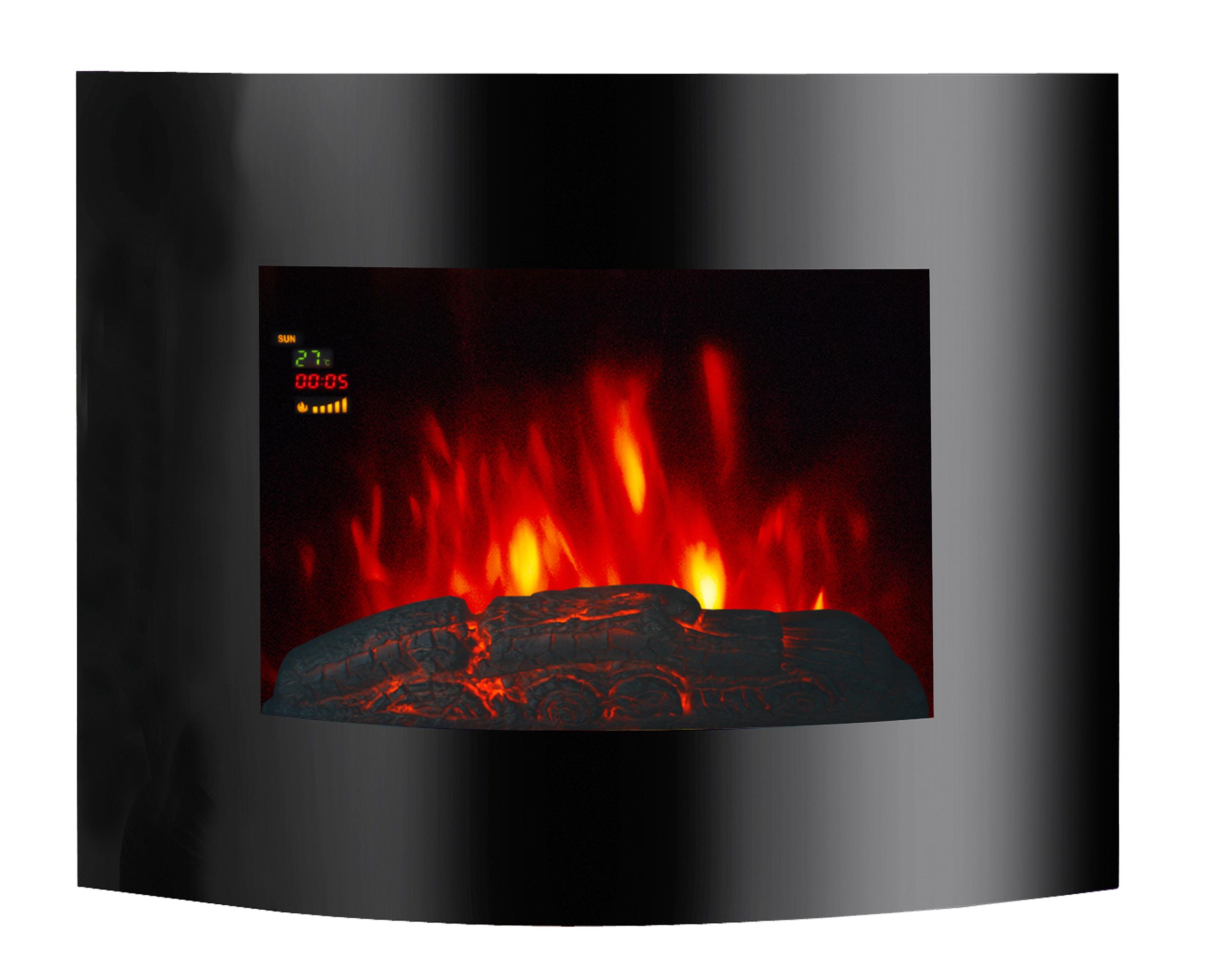 El Fuego LED Elektrokamin / Dekokamin Aarau 1800W Bild 1