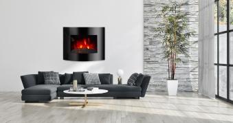 El Fuego LED Elektrokamin / Dekokamin Aarau 1800W Bild 2