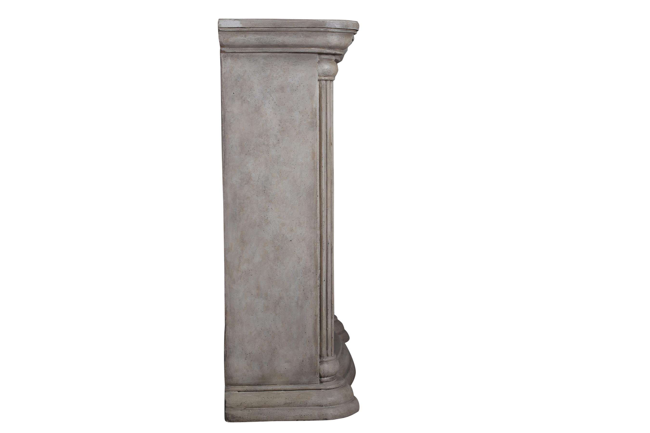 El Fuego LED Elektrokamin / Dekokamin Venedig 1800W weiß marmoriert Bild 4