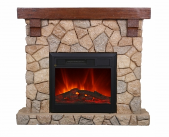 El Fuego LED Elektrokamin / Dekokamin Villach 1500W Bild 1