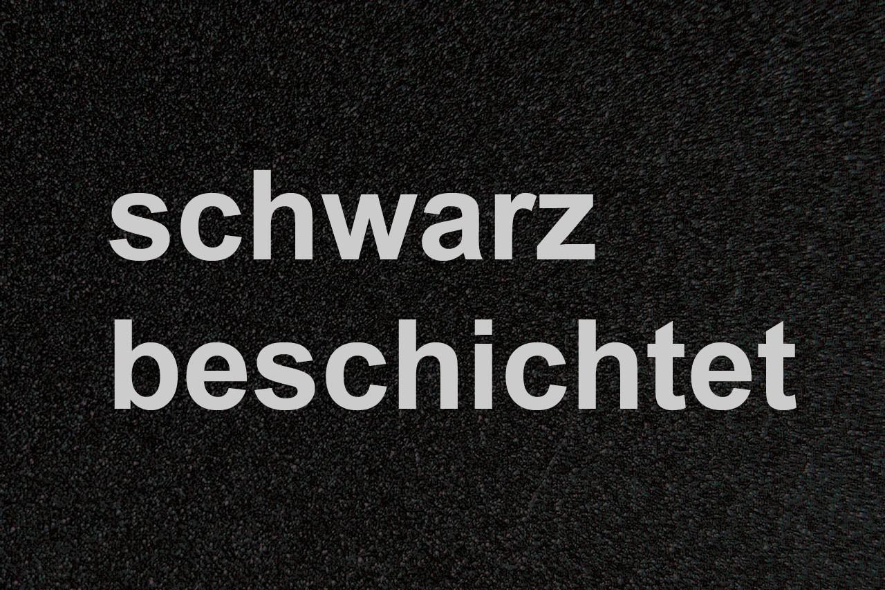 Funkenschutz Metallvorlegeplatte Lienbacher schwarz Trapez 100x55cm Bild 2