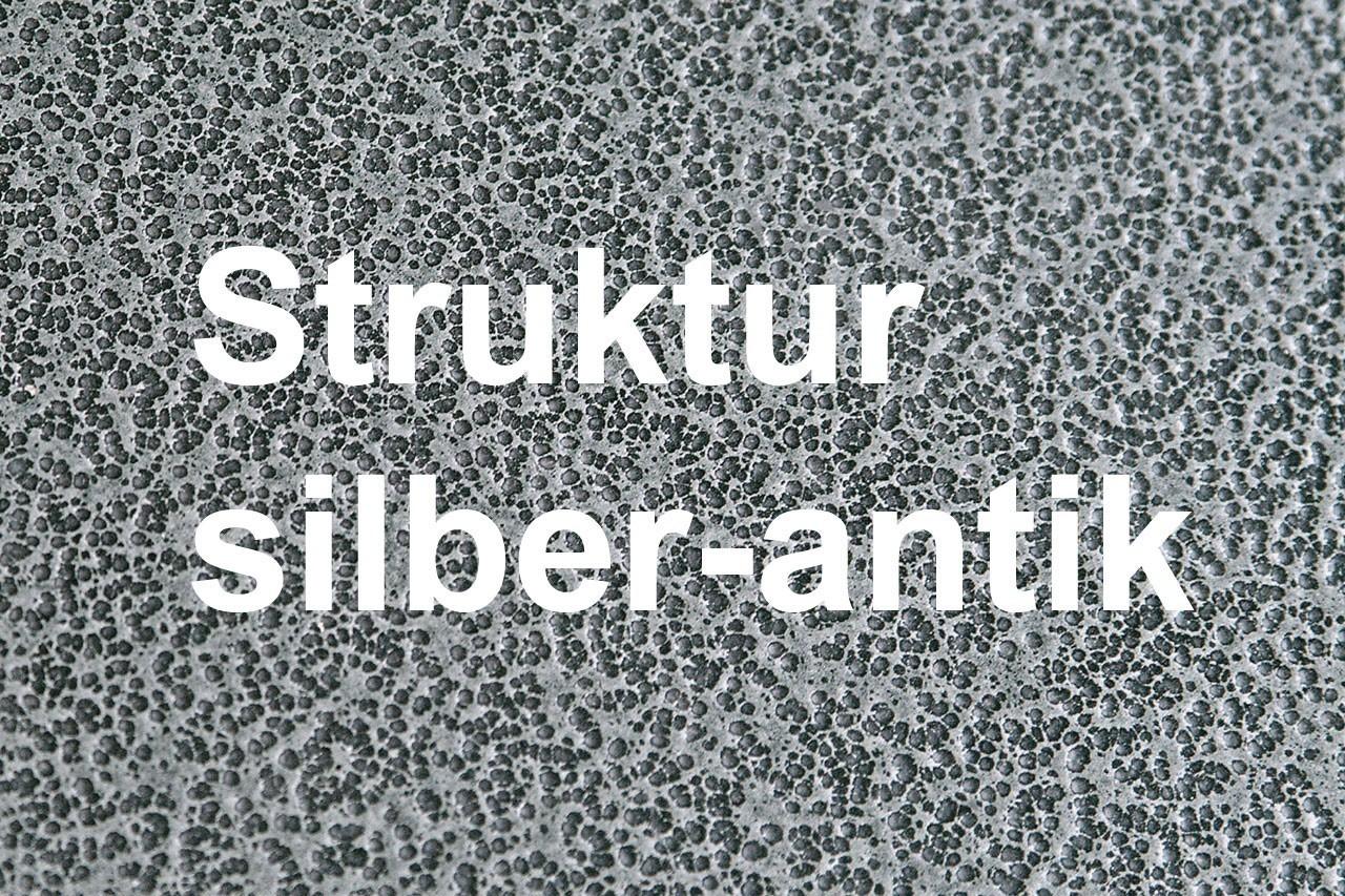 Funkenschutz Metallvorlegeplatte Lienbacher silber Rechteck 100x55cm Bild 2