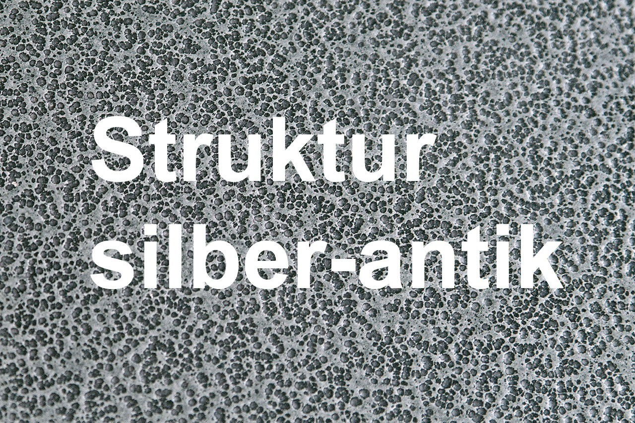 Funkenschutz Metallvorlegeplatte Lienbacher silber Segmentb. 100x55cm Bild 2