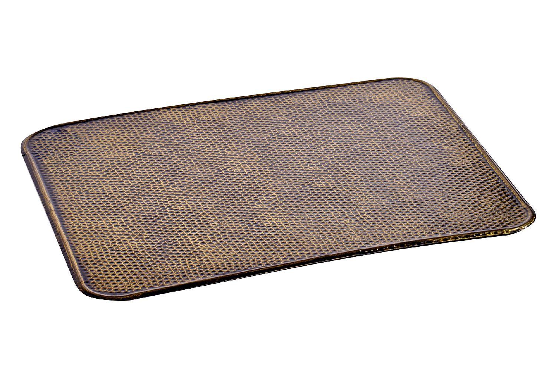 Funkenschutzplatte Unterlegplatte Messing 50x60 cm Bild 1
