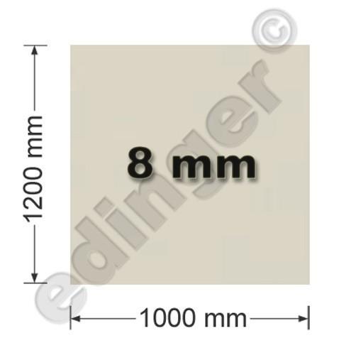 Funkenschutzplatte Glas 8mm Lienbacher Quadrat Sandstein 1000x1200mm Bild 1