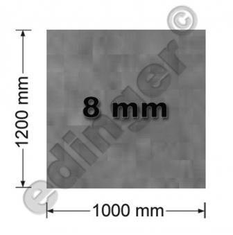 Funkenschutzplatte Glas 8mm Lienbacher Speckstein 1000x1200mm Bild 1