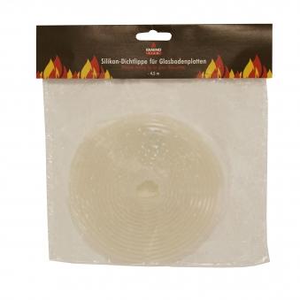 Schmutzlippe KaminoFlam zu Funkenschutzplatten / Glasbodenplatten Bild 1