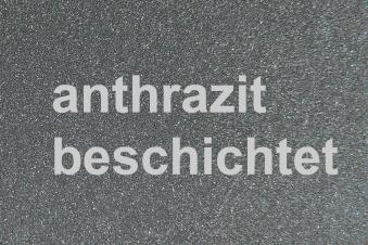 Funkenschutzplatte Metall Lienbacher anthrazit 120x130cm halbrund Bild 2