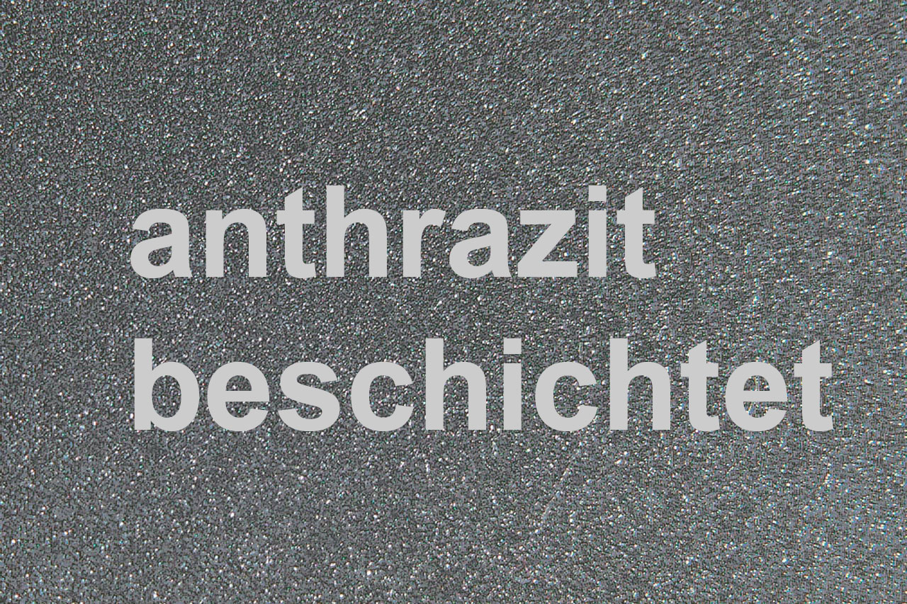 Funkenschutzplatte Metall Lienbacher anthrazit 5-Eck 125x125cm Bild 2