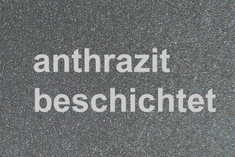 Funkenschutzplatte Metall Lienbacher anthrazit Segmentbogen 110x85cm Bild 2