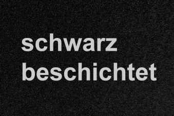 Funkenschutzplatte / Bodenblech Lienbacher schwarz 4-Eck 100x100cm Bild 2
