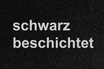 Funkenschutzplatte / Bodenblech Lienbacher schwarz 4-Eck 110x110cm Bild 2