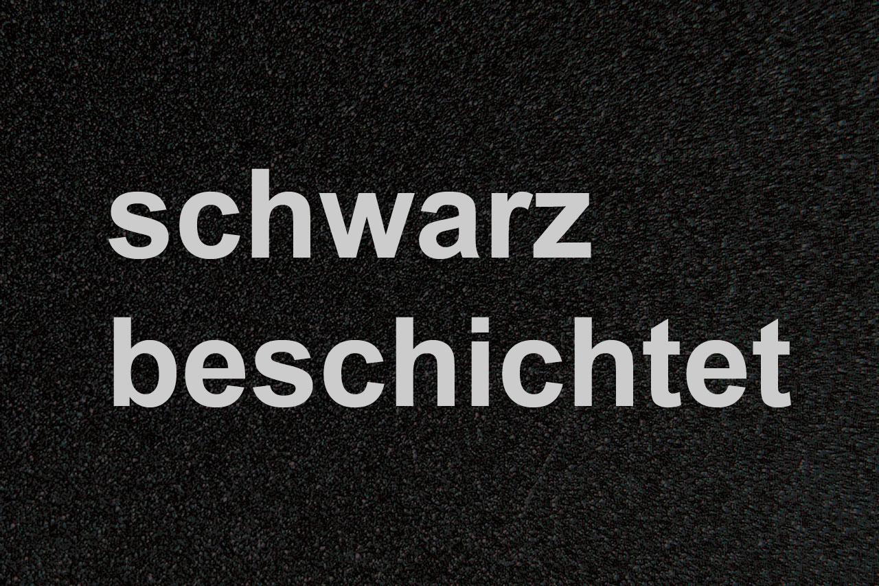 Funkenschutzplatte / Bodenblech Lienbacher schwarz 4-Eck 90x75cm Bild 2