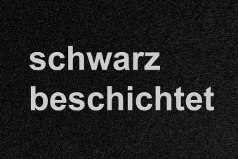 Funkenschutzplatte / Bodenblech Lienbacher schwarz halbrund 100x120cm Bild 2