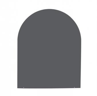 funkenschutzplatte bodenplatte stahl grau schwarz. Black Bedroom Furniture Sets. Home Design Ideas
